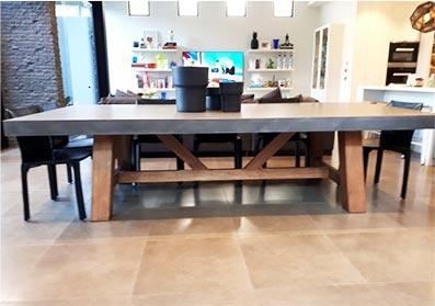 Concrete Dining Tables