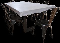 table-char