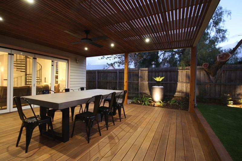 Outdoor concrete tables 1