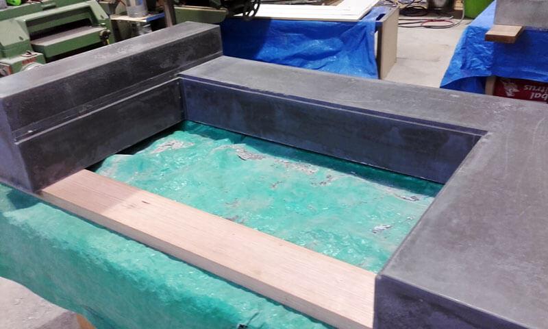 Concrete benchtops countertops 1