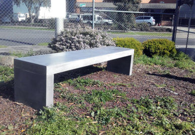 Outdoor concrete tables 9