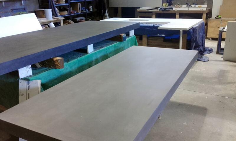 Outdoor concrete tables 10
