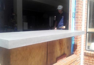Concrete benchtops countertops 4
