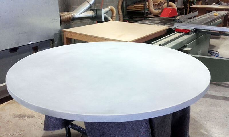Outdoor concrete tables 11