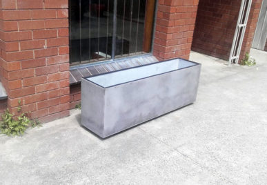 Outdoor concrete tables 19