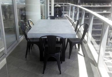 Outdoor concrete tables 20