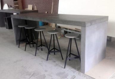 Outdoor concrete tables 27