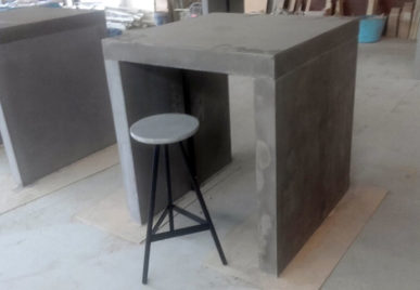 Outdoor concrete tables 28