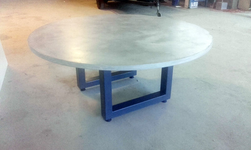 Outdoor concrete tables 29