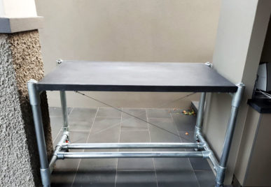 Outdoor concrete tables 32