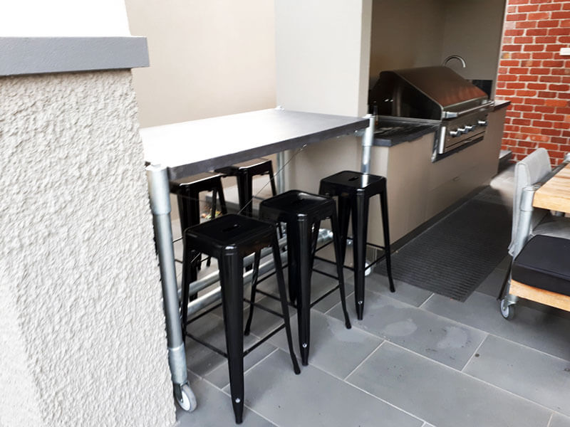 Outdoor concrete tables 33