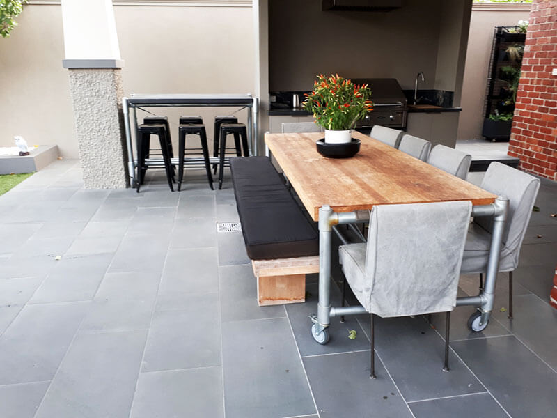 Outdoor concrete tables 35