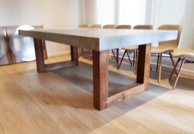 Outdoor concrete tables 36