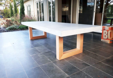 Concrete Dining Tables 29