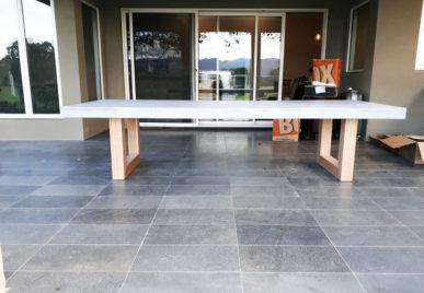 Outdoor concrete tables 40