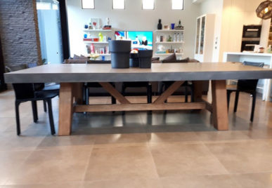 Concrete Dining Tables 35