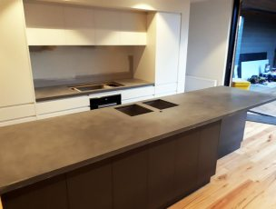 Concrete Kitchen Benchtops