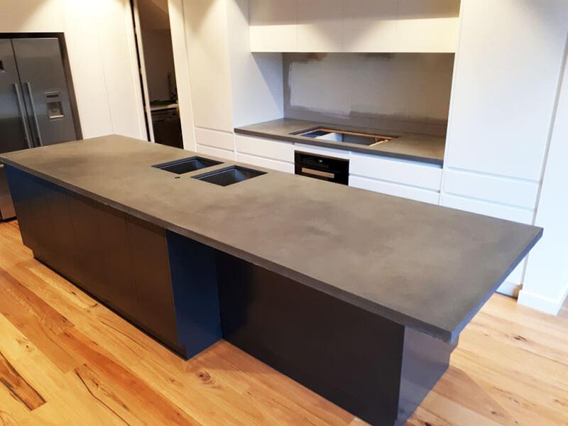 Concrete benchtops countertops 9