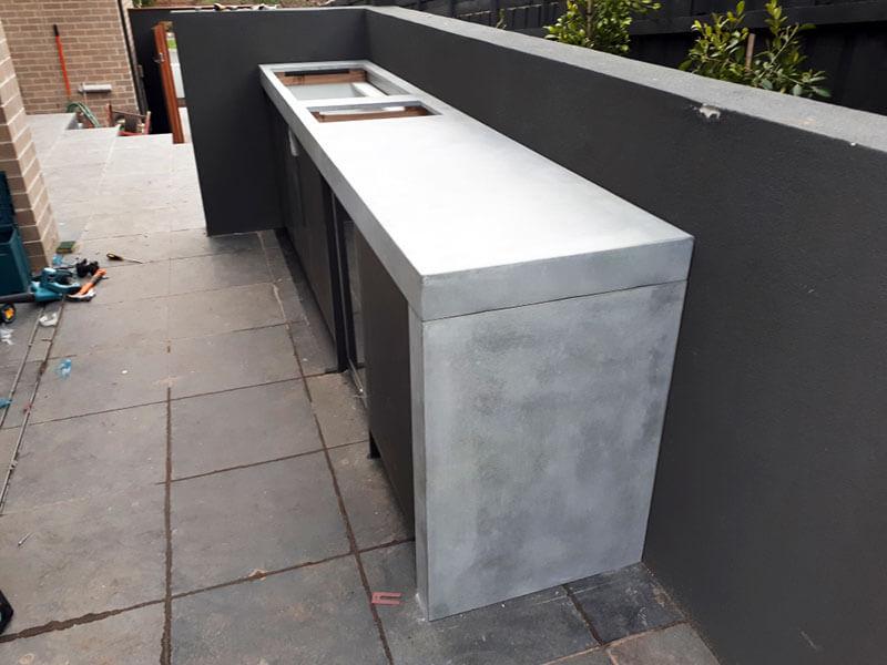 Concrete benchtops countertops 11