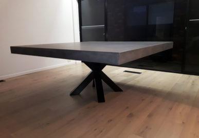 Outdoor concrete tables 41