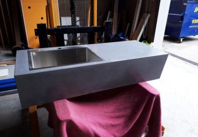 Concrete benchtops countertops 12