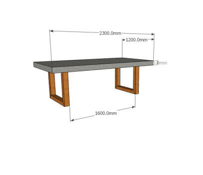 Concrete Dining Tables 3