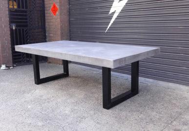 Outdoor concrete tables 5