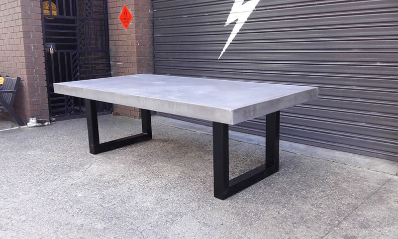 Outdoor concrete tables 5