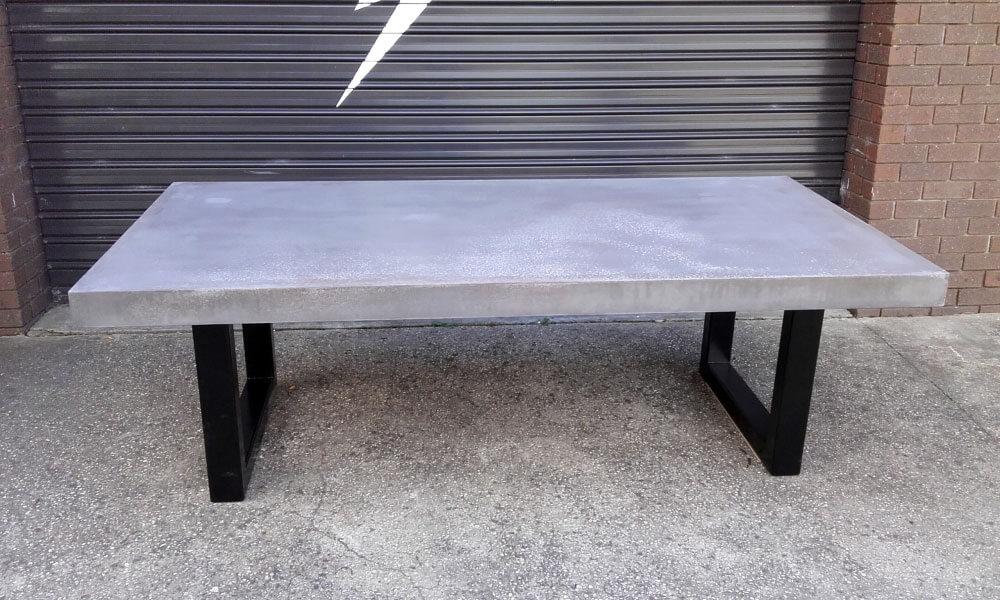 Outdoor concrete tables 7
