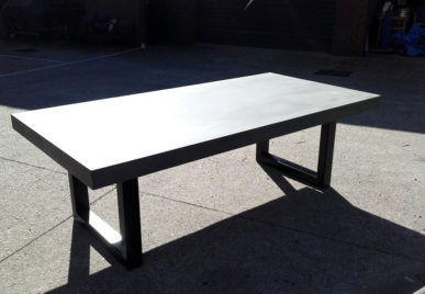 Outdoor concrete tables 8