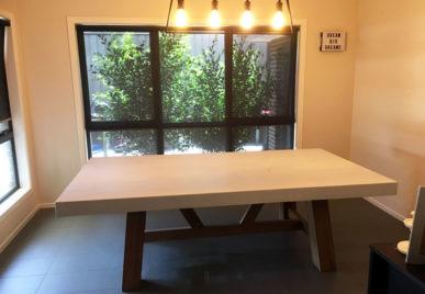 Outdoor concrete tables 47