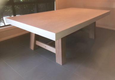 Outdoor concrete tables 49