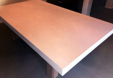 Outdoor concrete tables 50