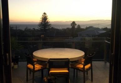 Outdoor concrete tables 56