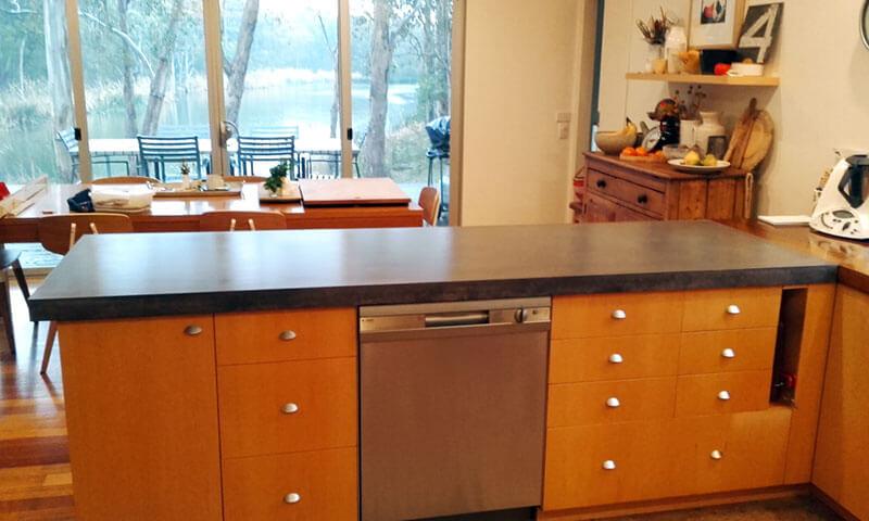 Concrete benchtops countertops 21