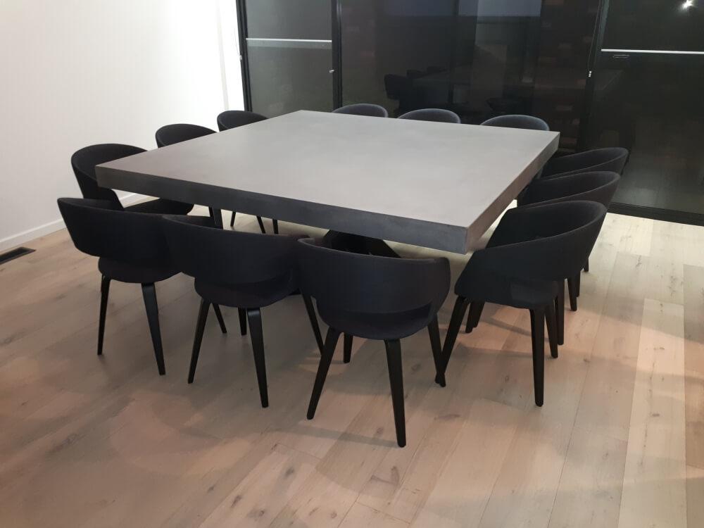 Concrete Kitchen Benchtops & Concrete Tables