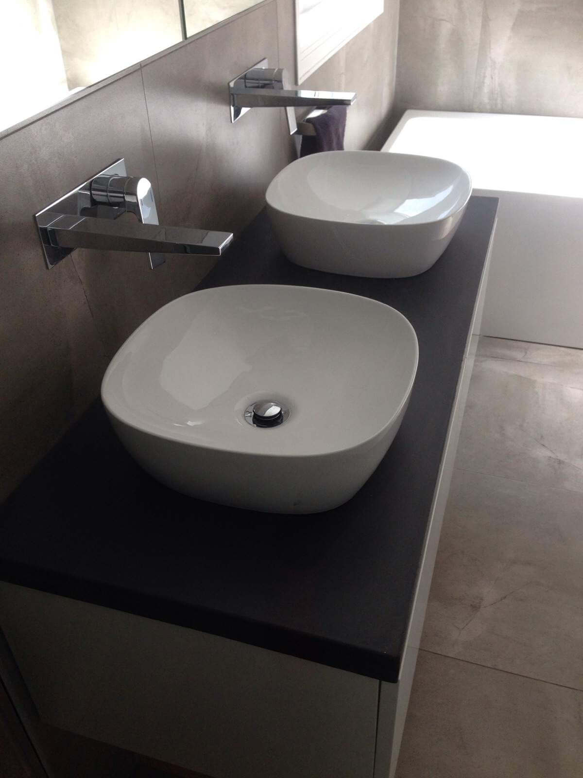Bathroom Tiles And Sinks Snap Concrete